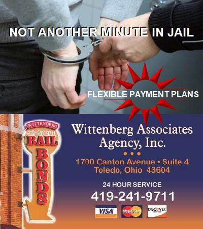 Wittenberg Bail Bonds | Toledo | Wood County | Bowling Green | Fostoria | Northwood | Perrysburg | Rossford | Ohio | Get Out Jail